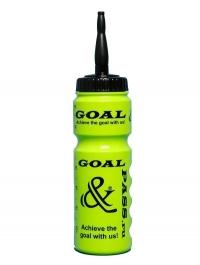 Спортивная бутылка для воды GOAL&PASS (хоккей) 750 мл зеленая