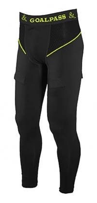 Компрессионные брюки с раковиной GOAL&PASS PRO SR BLK XL