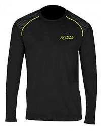 Компрессионная футболка с дл.рукавом GOAL & PASS SR BLK S