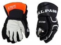 Хоккейные перчатки GOAL&PASS  G-10  размер  8 черные