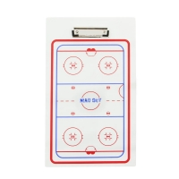 Тактическая хоккейная доска HOCKEY Mad Guy 23 см х 40 см с маркером